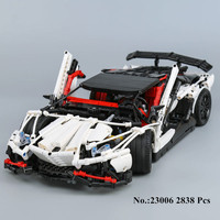 In Stock Lepin Technic Series 23006 2838Pcs Genuine The Hatchback Type R Set Building Blocks Bricks