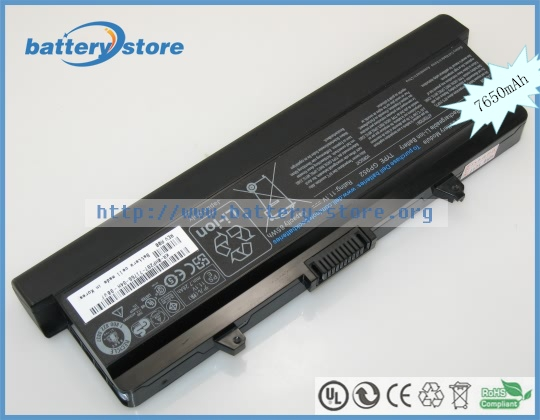 New Genuine laptop batteries for 15,1526,GW240,RN873,1546,312-0625,D608H,HP297,C601H,312-0634,451-10533,11.1V,9 cell