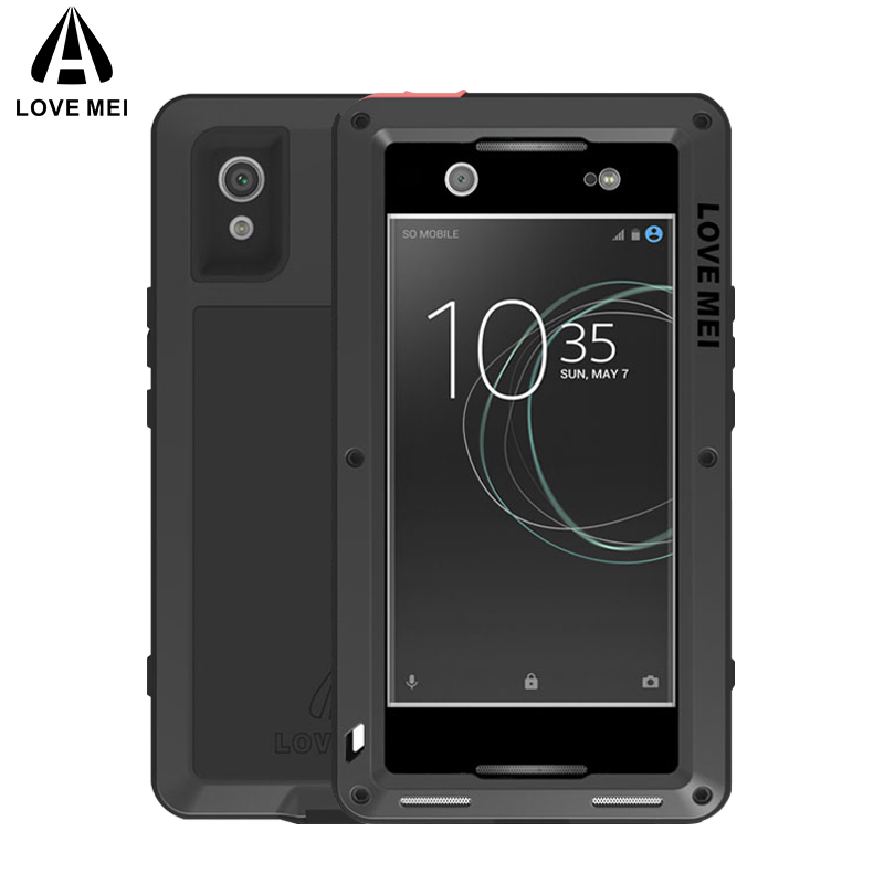 LOVE MEI Metal Aluminum Case For Sony Xperia XA1 Ultra Cover Powerful Armor Shockproof Waterproof Case For Sony Xperia XA1 UltraLOVE MEI Metal Aluminum Case For Sony Xperia XA1 Ultra Cover Powerful Armor Shockproof Waterproof Case For Sony Xperia XA1 Ultra