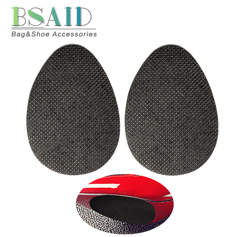 BSAID 1-5 pair/lot Non-slip Shoe Forefoot Soles Women's Shoes Heel Sole Grip Protector Pads Anti-Skid Cushion Rubber Outsoles french steel toe shoe covers protector visitor overshoes rubber sole non slip shoe woman safety work shoes for high heel