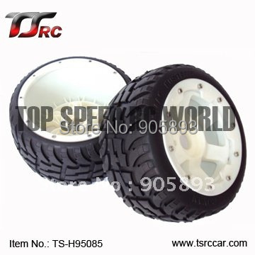 5B Rear Highway-road Wheel Set With Nylon Super Star Wheel(TS-H95085)x 2pcs for 1/5 Baja 5B, wholesale and retail 5b rear highway road wheel set ts h85030 2 x 2pcs for 1 5 baja 5b ss wholesale and retail