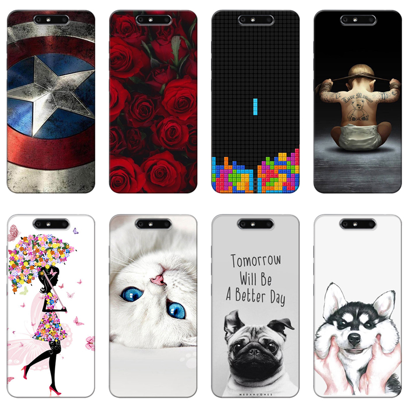 Cellphones & Telecommunications Trend Mark Good Quality Colorful Cases For Zte Blade V8 V 8 V0800 Bv0800 Fundas Printing Drawing Phone Girls Cover Silicone Soft Case