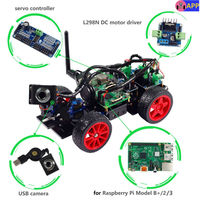 SunFounder Smart Video Car Kit For Raspberry Pi With Android App Compatible With RPi 3 2