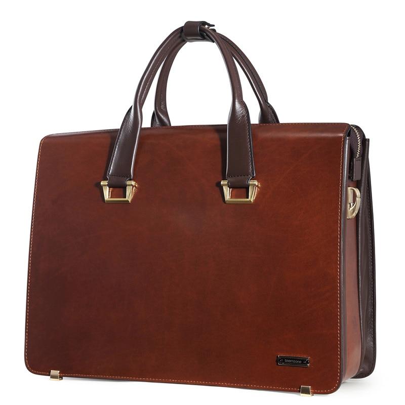 Мода вядомага брэнда бізнес-мужчын партфель мяшок алейны воск, скура мужчынскі 15 цалевая сумка для наўтбукаў Паўсядзённы мужчынская сумка на сумках J15
