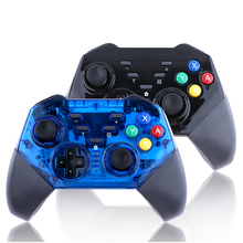 2019 Wireless Gamepad For PC Switch PRO Controller Bluetooth Joystick Transparent Game Controller For Nintend Switch Controller