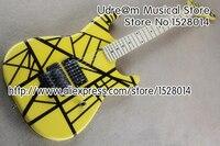 New Arrival Yellow Finish Kramer Suneye Guitar Electric Maple Fretboard Chinese Guitars Free Shipping