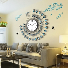 Auspicious decoration, Peacock background wall living room sofa mural wall hangings Pendant Home Furnishing , Ornaments
