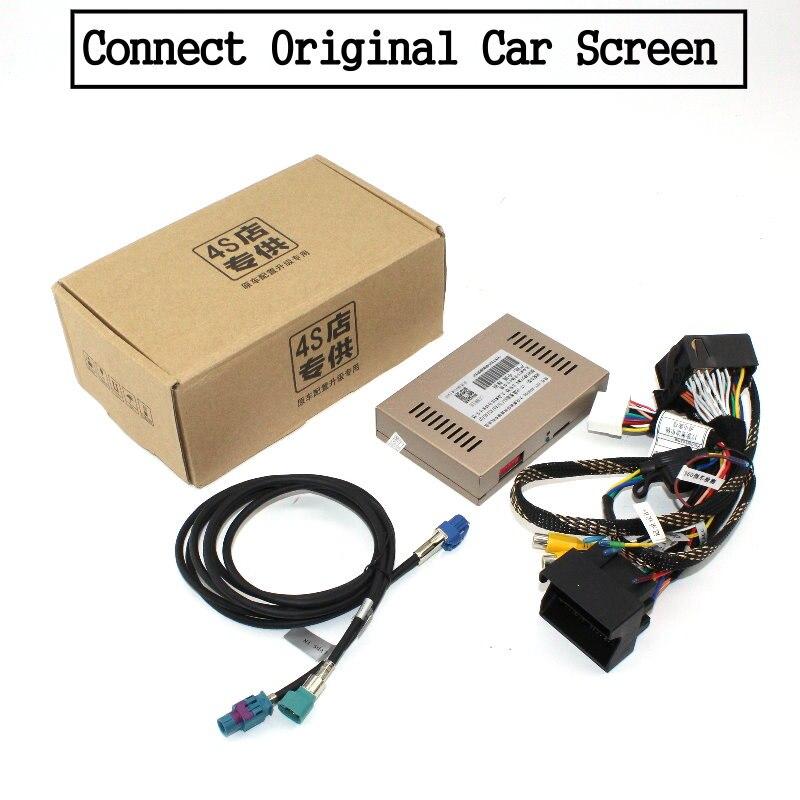Liislee For Audi Q3 2010~2018 Front Rear View Reversing Camera Original screen upgrade Interface Adapter backup Camera Decoder 14