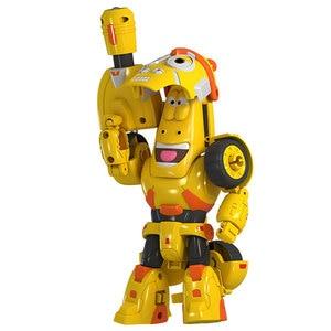 Image 3 - Yüksek kaliteli ABS eğlenceli Larva dönüşüm oyuncaklar aksiyon figürleri deformasyon araba modu ve Mecha mod doğum günü hediyesi