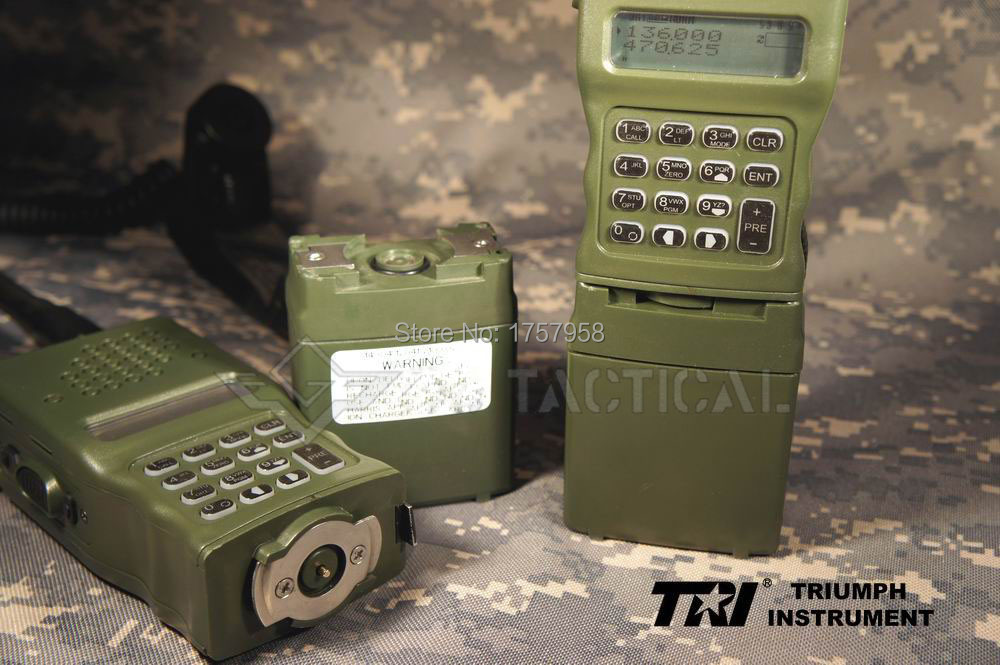 TRI AN/PRC-152 (УФ) 6-контакты Интер/Intra MBITR Радио Devgru КНР 152 Тактический Беспроводной радиостанции (IPX-7)