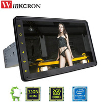 BEST 8 Android 6 0 Universal 1 DIN 2GB 32GB Car GPS Navigation Radio Stereo Head