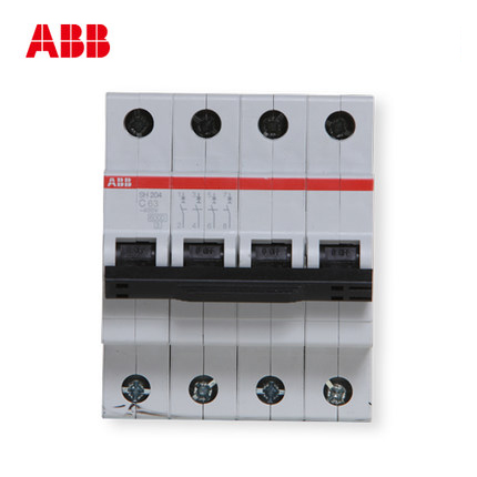 ABB circuit breaker air switch SH200 series switch 63A 4P софтстартер abb 1sfa896106r7000