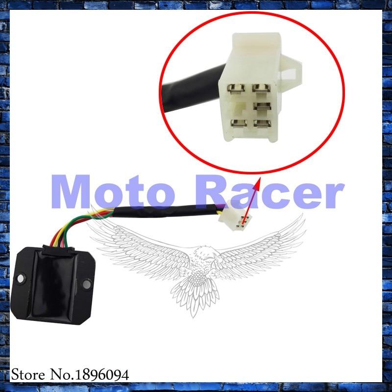 Voltage Regulator Rectifier For ATV Eton Beamer III Matrix 50 Scooter Viper 150R