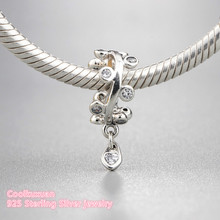 Buy pandora droplet and get free shipping on aliexpress 2018 spring 925 sterling silver chandelier droplets dangle charm clear cz charm beads fit original mozeypictures Choice Image