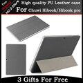 Caso Original Couro PU Para CHUWI HiBook Pro/HiBook/Hi10 Pro Tablet PC, caso Ultra-fino para hibook Frete Grátis Com 3 Presentes