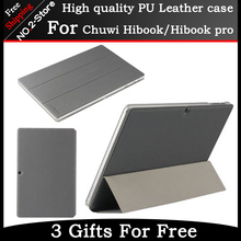 Original PU Leather Case For CHUWI HiBook Pro / HiBook /Hi10 Pro Tablet PC,Ultra-thin case for hibook Free Shipping With 3 Gifts