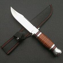 Mengoing Hard Tough 5Cr13Mov сталь фиксированным лезвием охотничьи ножи Открытый выживания для шашлыков пеший Туризм Лидер продаж