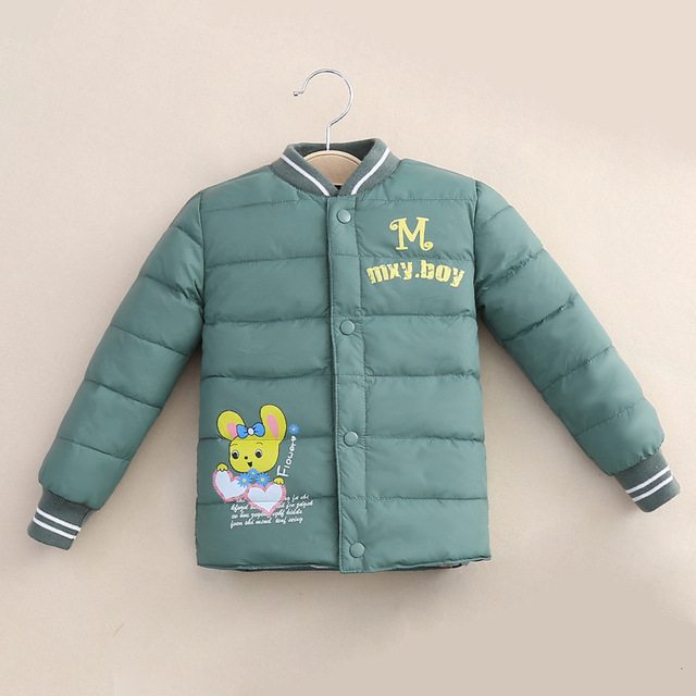 Kids Baby Girls Clothes Winter Down Coat Jacket Liner Clothing Children Boys Pants Warming Lovely Printing Thermal Trousers