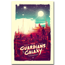 STAR LORD - Guardian of The Galaxy Art Silk Fabric Poster Print 13x20 24x36inch Superheroes Movie Picture for Room Wall Decor 22(China)