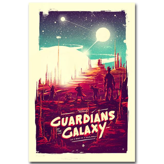 STAR LORD – Guardian of The Galaxy Art Silk Fabric Poster Print 13×20 24x36inch Superheroes Movie Picture for Room Wall Decor 22