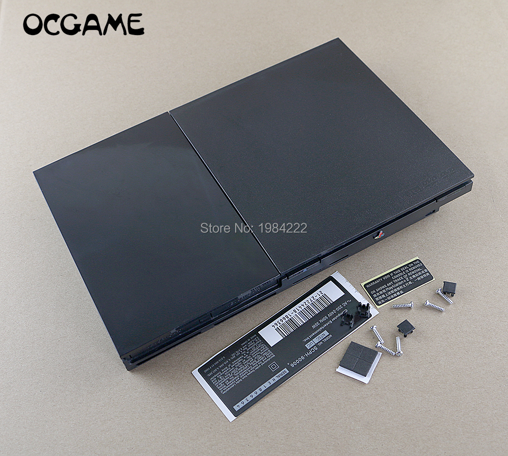 ChengChengDianWan High Quality Full Shell Housing Machine Case Cover For PS2 Slim 90000 9w 9000x Series