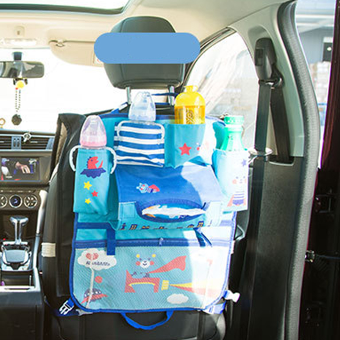 New Arrival Car Seat Back Storage Hang Bag Organizer Car-styling Baby Product Stowing Tidying Automobile Interior Accessories