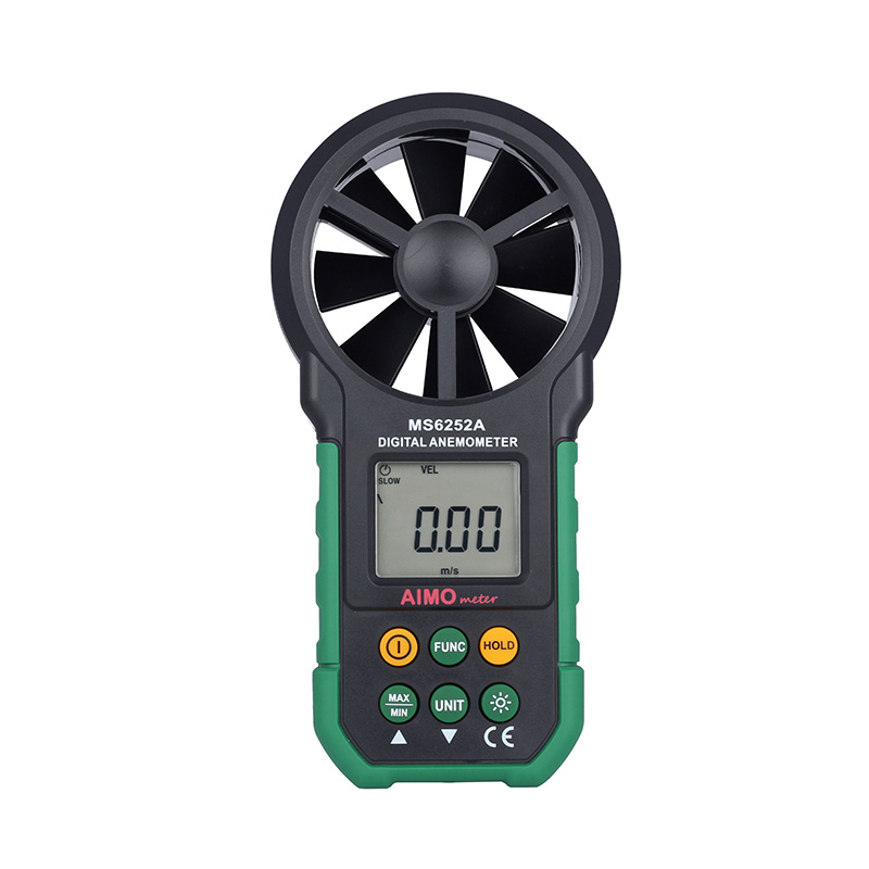 Wind Speed Meter : Professional digital anemometers aimo ms a wind speed