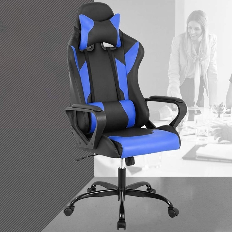Computer Cadeira Gamer Desk Ergonomic Executive Swivel Rolling Gaming Chair With Adjustable Arms Lumbar Support For Women Men