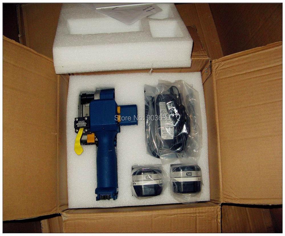 Z323 su baterijomis maitinamas PET / plastikinis suvirinimo surišimo - Įrankių komplektai - Nuotrauka 6