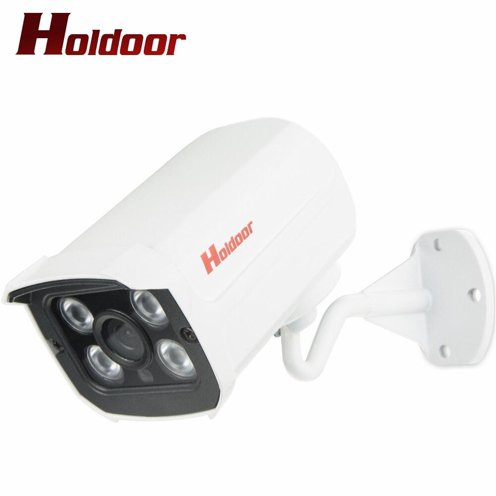 bilder für Holdoor 1080 P Full HD IP Web-kamera Netzwerk Secutiry IPC metall Wasserdicht IP66 Hi3518E Array IR led Nachtsicht Im Freien Onvif