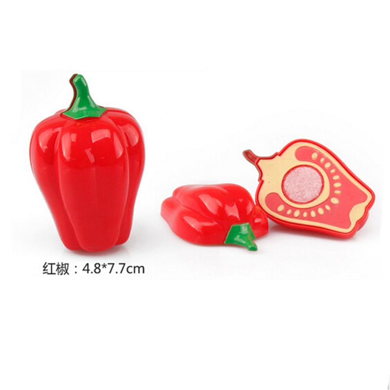 Hot Sale Plastic Kitchen Food Fruit Vegetable Cutting Kids Pretend Play Educational Toy Safety Children Kitchen Toys Sets #5