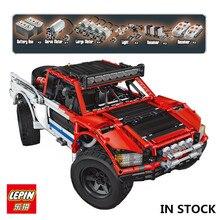 В наличии Лепин 23013 натуральная 2314 шт. техника MOC серии внедорожник автомобилей пикап кирпичи строительный Набор сделай сам блоки игрушки мальчиков подарок