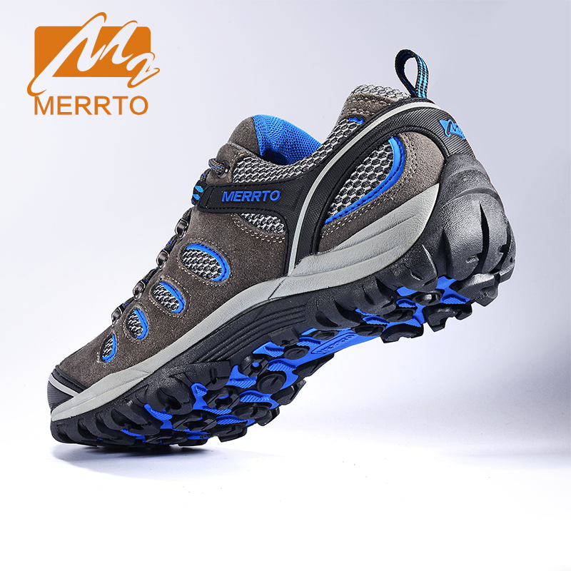 MERRTO Hiking Shoes For Men Outdoor Sports Sneakers Men Breathable Trekking Shoes Sports Sneakers Men Outdoor Male Walking Shoes outdoor hiking shoes men women camping sneakers breathable outdoor sports sneakers walking trekking sneakers for couples lovers