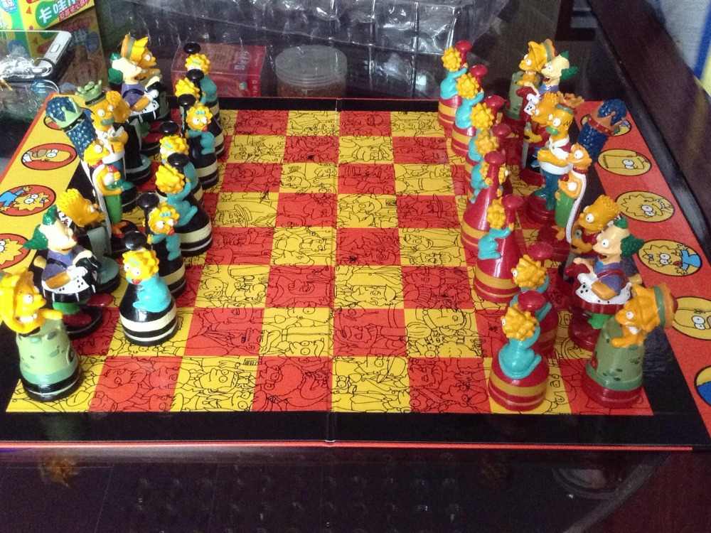 шахматы в подарок на день рождения