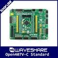 Waveshare Open407V-C Стандарт STM32F407VET6 STM32F407 STM32 ARM Cortex-M4 Совет По Развитию + PL2303 USB UART Конвертер