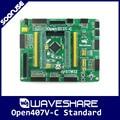 Waveshare Open407V-C Standard STM32F407VET6 STM32F407 ARM Cortex-M4 STM32 Development Board + PL2303 USB UART Converter