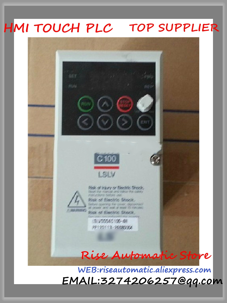 LSLV0001C100-1N new 0.1kW 1 Phase 200V Inverter VFD frequency AC drive