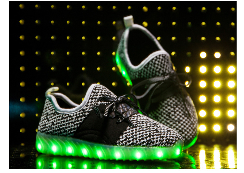 Led Sneakers YZY v2 Kids 12