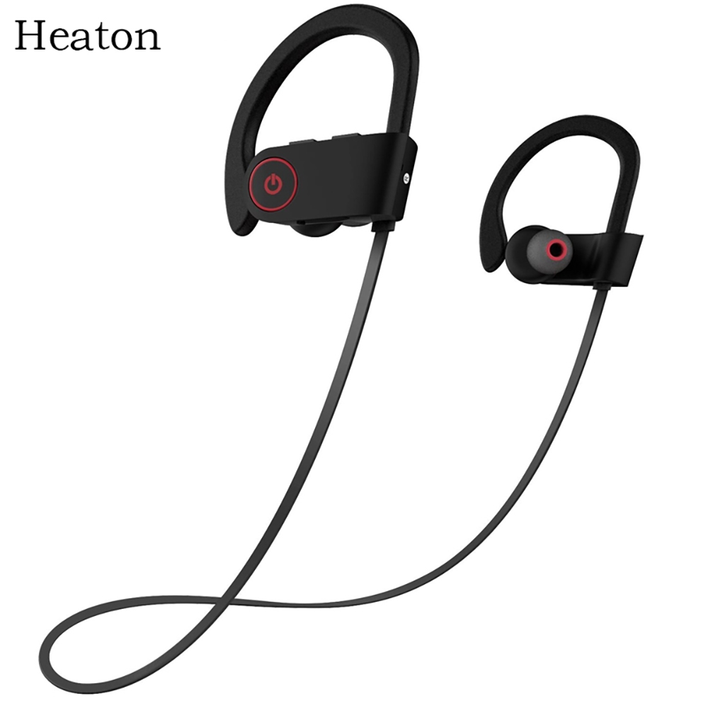 Heaton Wireless Bluetooth Headphones Fashion Sports Bluetooth Headset Earphones with Mic Stereo Sweatproof Earbuds for Phone