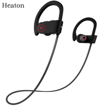 Heaton Wireless Bluetooth Headphones Fashion Sports Bluetooth Headset Earphones with Mic Stereo Sweatproof Earbuds for Phone PC