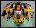 Injection For K8 08 09 10 SUZUKI GSX R750 GSX-R750 GSXR 750 Kit GSXR750 K8 2008 2009 2010 Orange Fairing