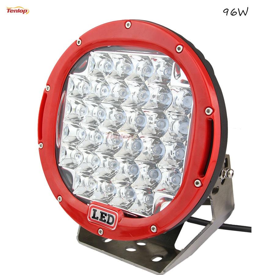 9 дюймов 96ВТ светодиодные передние бампера света для бездорожья 4*4 Вранглер грузовик 4*4 внедорожник ATV Трактор 12В 24В