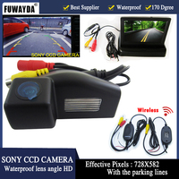 4 3 Inch TFT LCD Auto Car Rear View Mirror Monitor Parking Night Vision Car Rearview