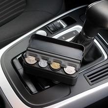 Car Interior Accessories Organizer Case Plastic Holder Container Coins Storage B