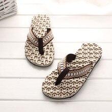 e2caa8f37d33b Men Summer Comfortable Massage Flip Flops Shoes Sandals Male Slipper indoor    outdoor Flip-flops