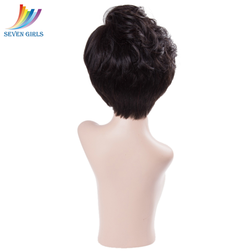 Sevengirls Malaysian Short Bob Wigs Wet And Wavy Virgin Human Hair Full Lace Wigs With Natural Hairline For Women Free Shipping