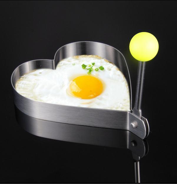 Thickening stainless steel omelette egg model omelette device love egg ring crumpet mould