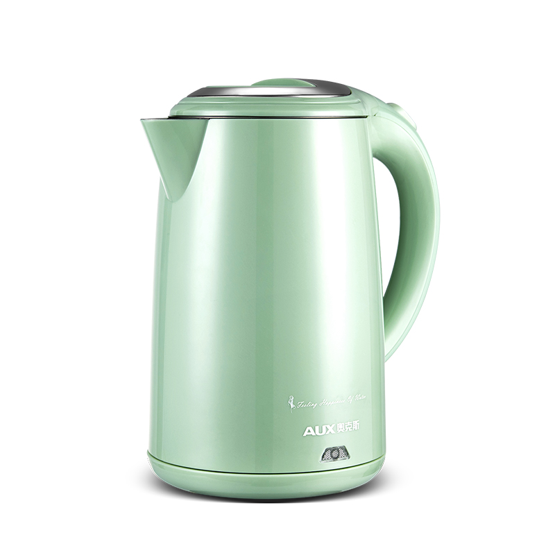 220V Househol 1.5L Electric Kettle 304 Stainless Steel Inner Fast Boiling Energy-saving Anti-scald Kettle Auto-Off Function kettle