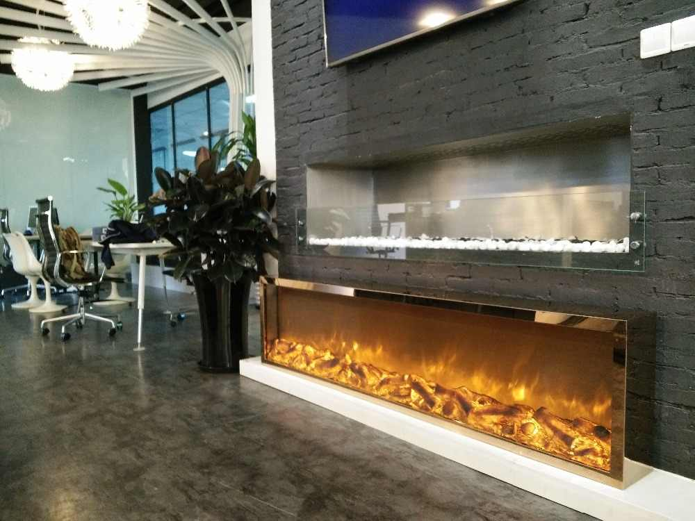 Free Shipping To Europe Modern Design Electric Fireplace
