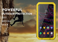 Classic Luxury Glossy Metal Dustproof Shockproof Anti Fall For Samsung S9 Luxury Metal For Military Shockproof